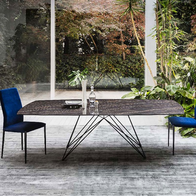 Masa dining Riflessi Pegaso Ceramic Table