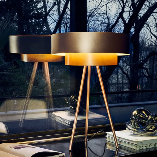 Veioza Riflessi Table Lamp Planet