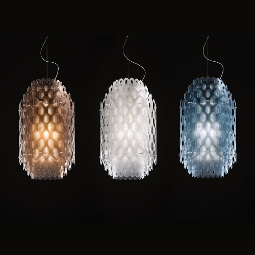 Corp de iluminat Slamp, lustra Chantal Suspension