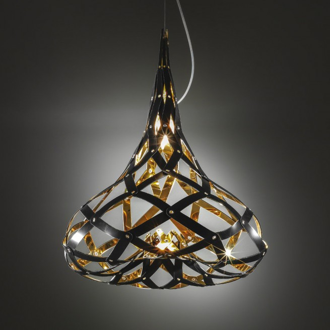 Corp de iluminat Slamp, Lustra Supermorgana Suspension