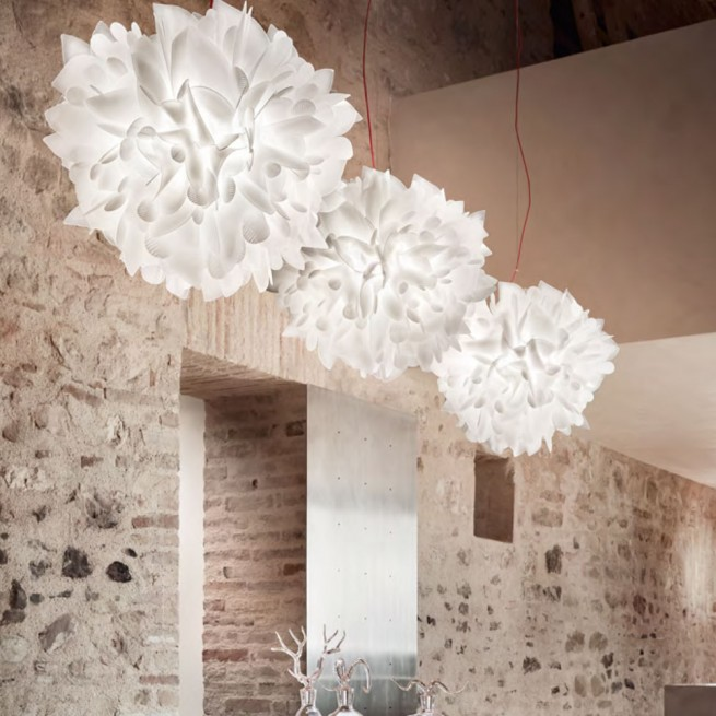 Corp de iluminat Slamp, lustra Veli Foliage Suspension