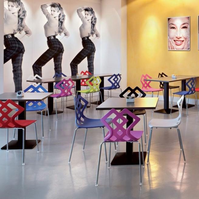 Scaun pentru uz comercial Alma Design, Zahira
