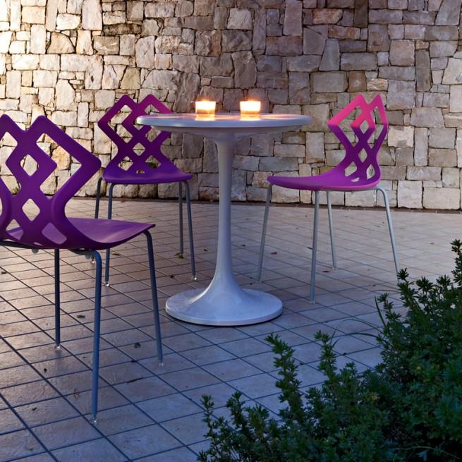 Scaun pentru terasa Alma Design, Zahira