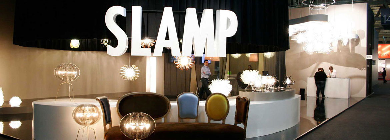 Corpuri de iluminat Slamp, echilibrul luminii cu irizatii de tehnologie!